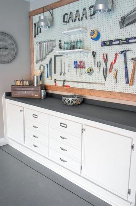 Create a carpentry workshop