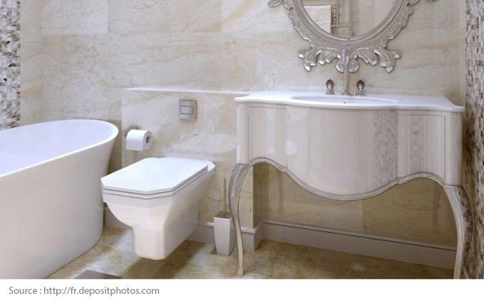 Eye-Catching White Bathrooms - 6