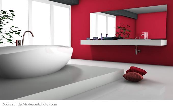 Comment mettre en valeur une salle de bains blanche? - 8