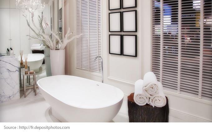 Comment mettre en valeur une salle de bains blanche? - 2