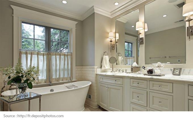Eye-Catching White Bathrooms - 5