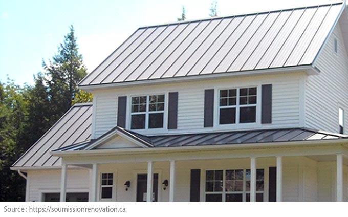 Comment choisir le revêtement de toiture? - Tôle