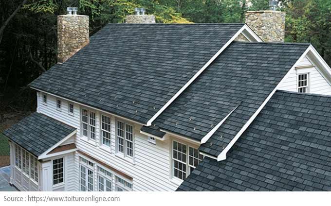 Comment choisir le revêtement de toiture? - Bardeaux d'asphalte