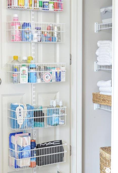 Système de rangement pour salle de bain