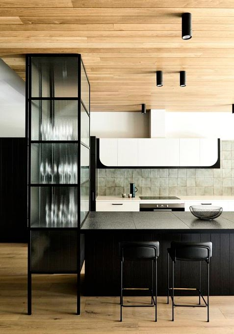 What is the purpose of a backsplash?