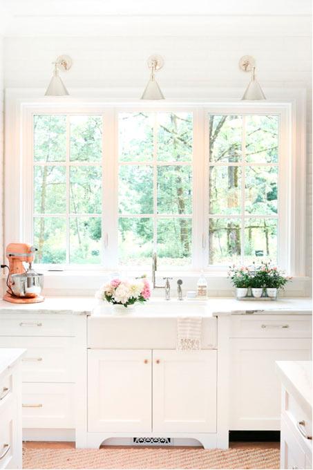 Fenêtre dans une cuisine