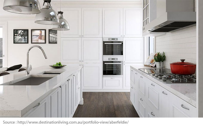 The Simple Elegance of a White Kitchen - 1