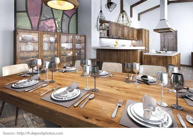 10 salles à manger chaleureuses - 1