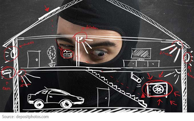 Peace of Mind While on Vacation - Keeping burglars away
