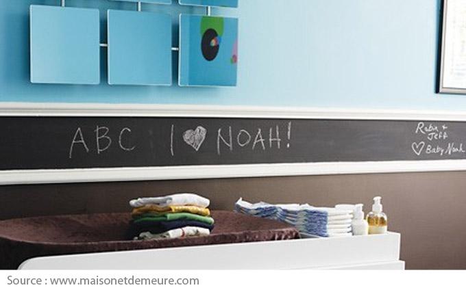 Chalkboard moulding