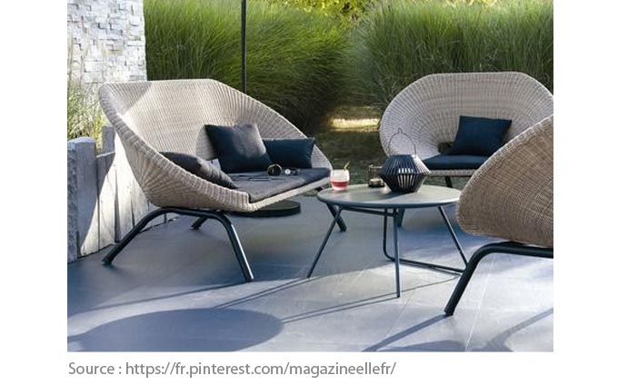 Outdoor Furniture: Ratan