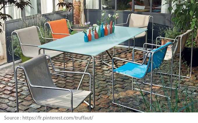 Outdoor Furniture: Textilene