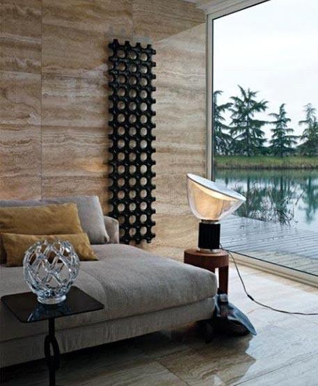 Designer stainless steel radiator