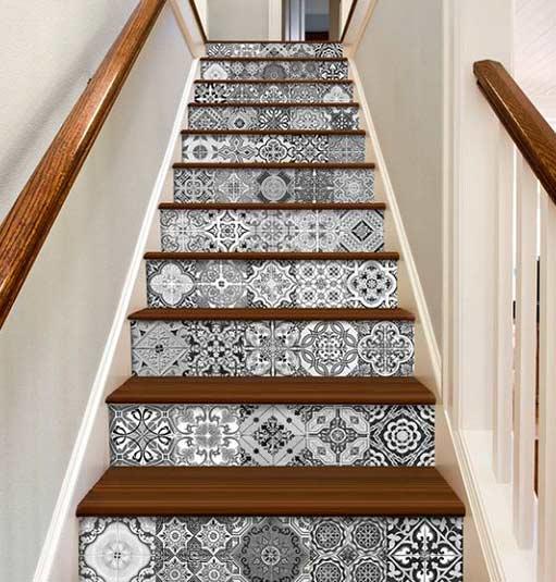 Escalier de type méditérranéen