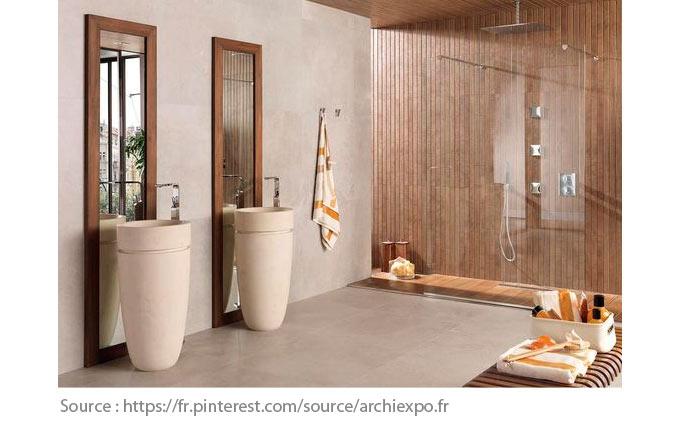 Sols pour la salle de bain - Le gré cérame