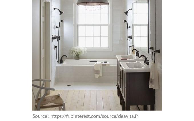 Sols pour la salle de bain - Le parquet