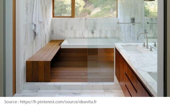 Sols pour la salle de bain - Le marbre