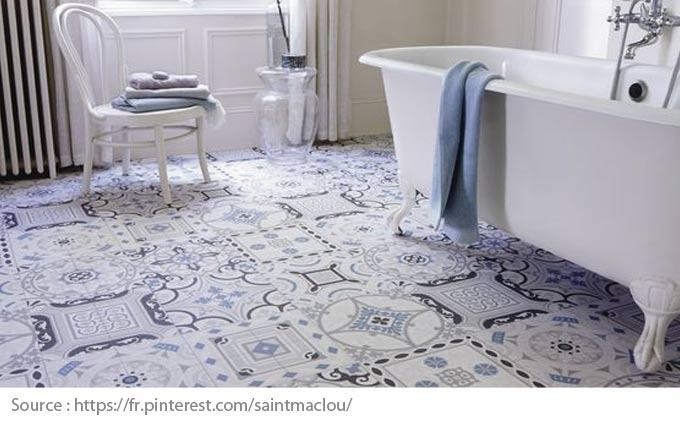 Bathroom Floor Options - Vinyl