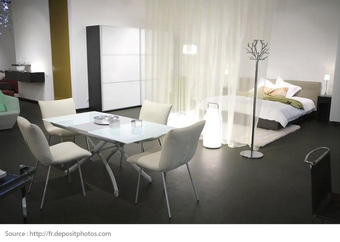 Comment optimiser l'espace de son studio? - 1