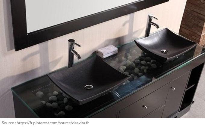Le meuble-lavabo double - 5