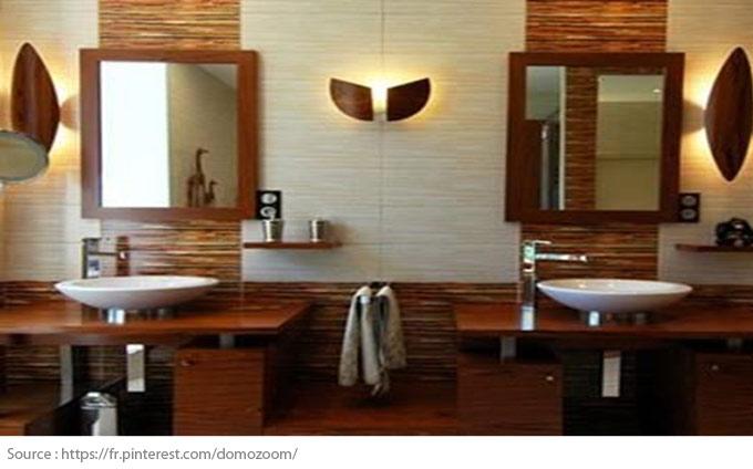 Le meuble-lavabo double - 4