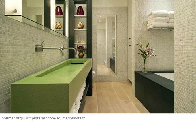 Le meuble-lavabo double - 6