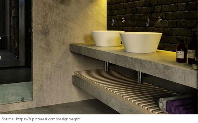 Le meuble-lavabo double - 7