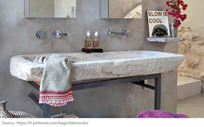 Le meuble-lavabo double - 10