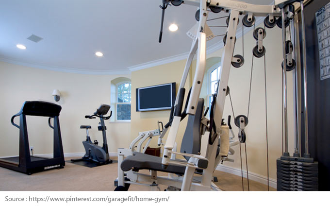 Get in Shape in Your Home Gym