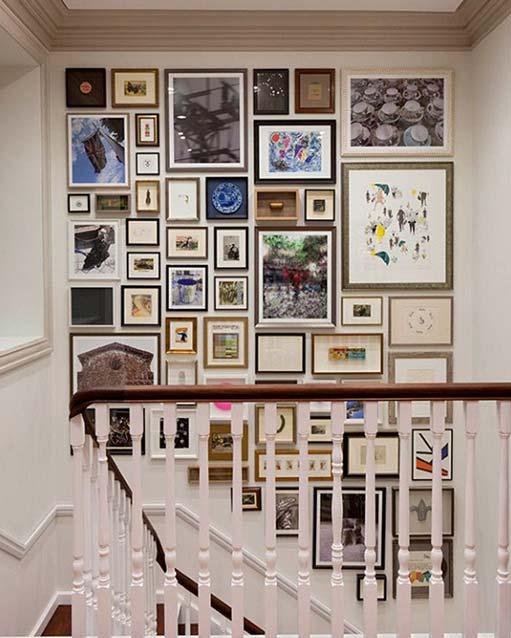 Les murs de galeries photos