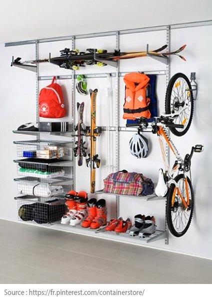 Conseils futés pour bien aménager son garage! - Utilisez l'espace