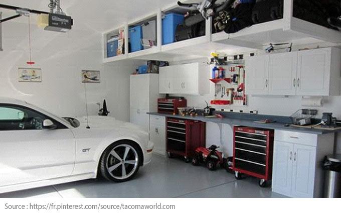 Conseils futés pour bien aménager son garage! - Aménagez