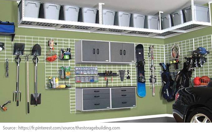 Conseils futés pour bien aménager son garage! - Rangez et désencombrez
