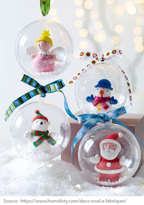 Boule de Noël avec surprises