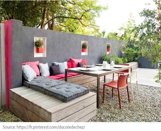 Comment bien aménager balcons et terrasses? - Cloisonnez l'espace pour plus de tranquilité