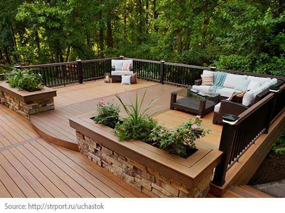 Setting up Your Balcony or Terrace - Determine the location