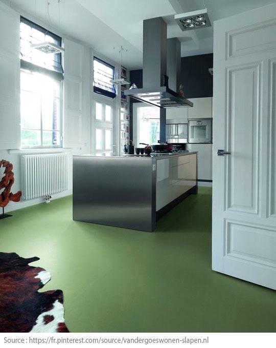 Tips for Choosing a 100% Green Floor - Linoleum