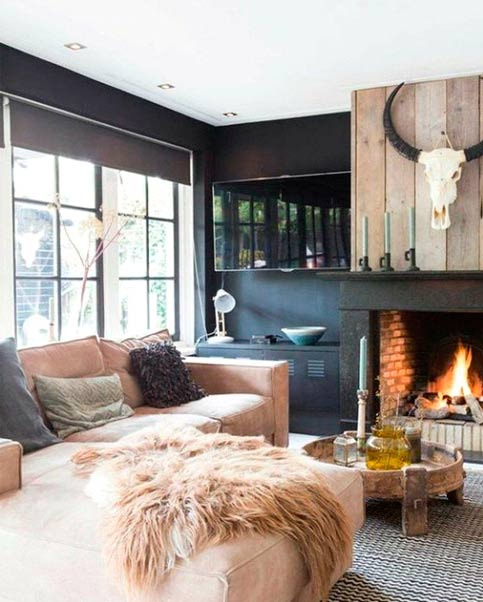Highlight your fireplace