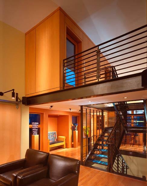 Metal railings and banisters