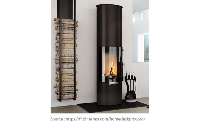 Ultra-designed wood stove