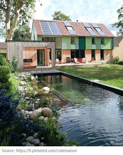 Quand l'environnement devient le critère principal d'achat - La maison bioclimatique