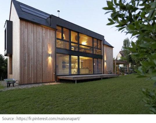 Quand l'environnement devient le critère principal d'achat - La maison passive
