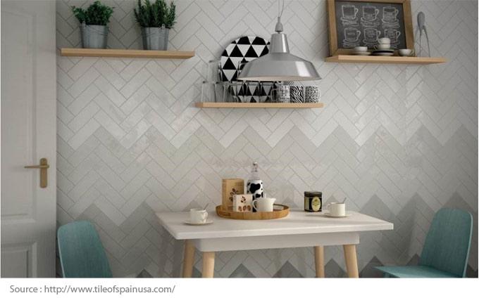 Les possibilités infinies de la céramique - Le motif à chevrons