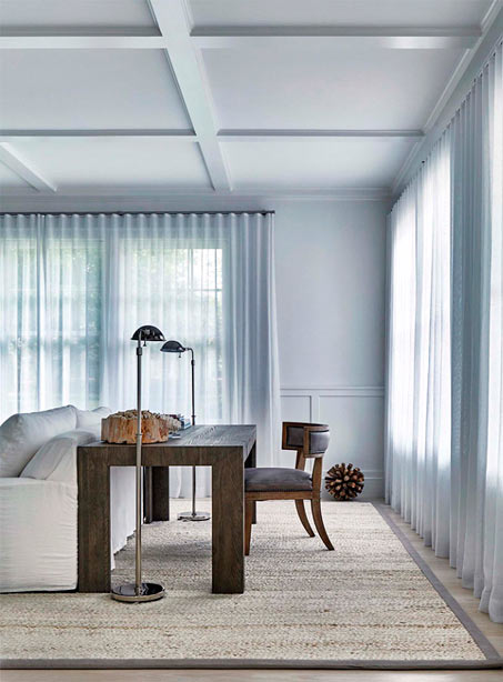 Fabric choice: fresh and simple
