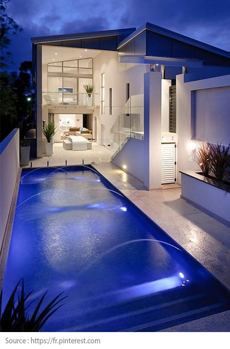 Pool Lighting: Underwater lighting