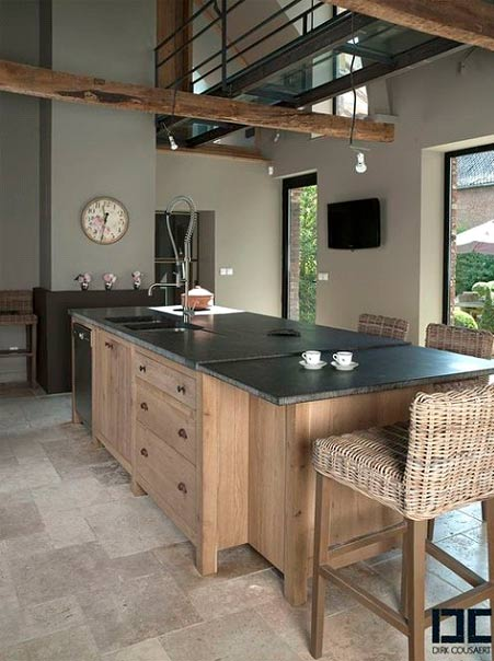 Why use tiles in the kitchen?