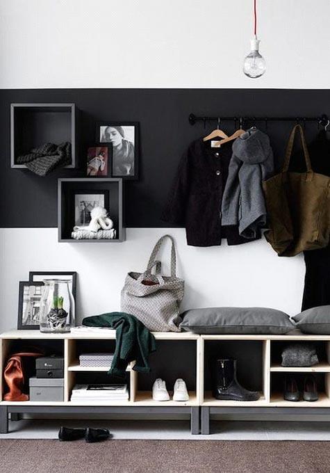 Organizing Your Entryway