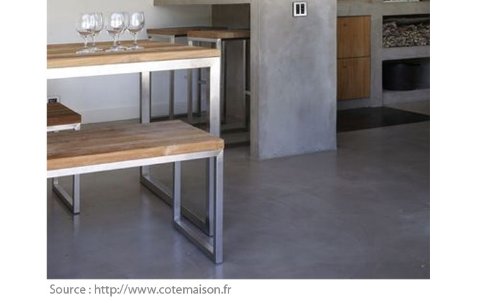 Types of Home Flooring: Polished Concrete