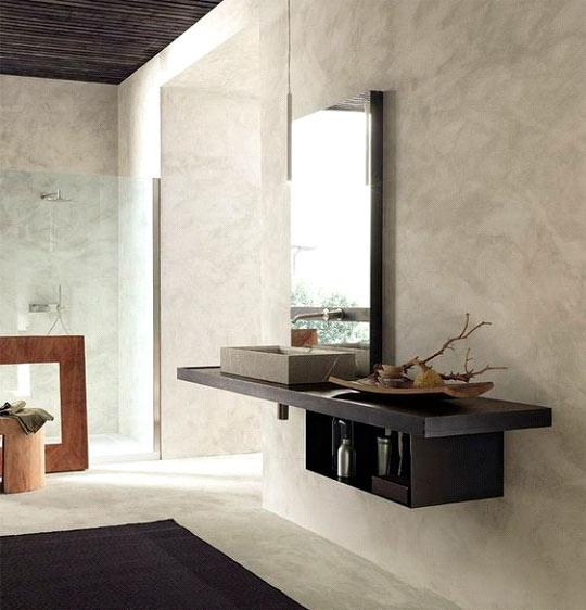 Polished concrete is stylish