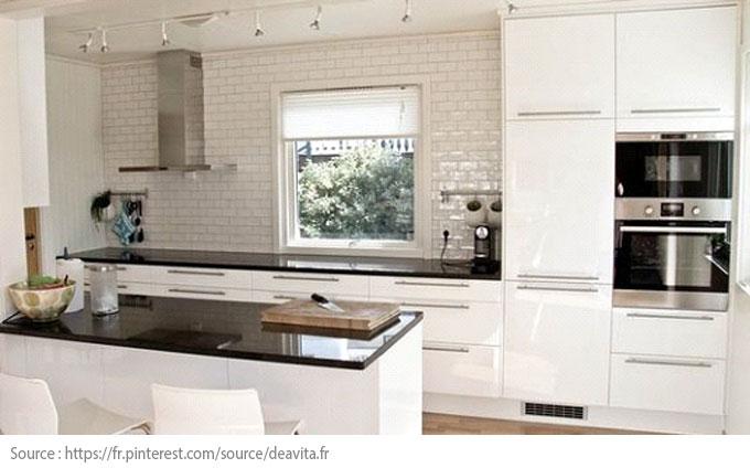 La cuisine blanche : moderne et chic - 2